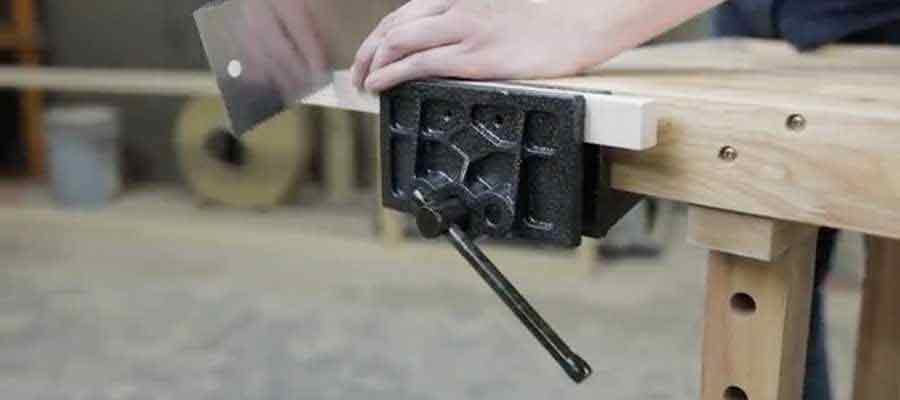 Olympia Tools Woodworking Vise with Bench Dog